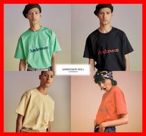 ANDERSSON BELL Unisex Street Style Cotton Short Sleeves T-Shirts