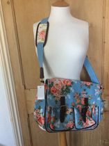 Primark Flower Patterns Casual Style PVC Clothing Crossbody