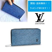 Louis Vuitton EPI Unisex Leather Long Wallets