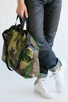 Ron Herman Camouflage Nylon A4 2WAY Totes