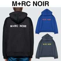 MRC NOIR Pullovers Unisex Street Style Long Sleeves Hoodies