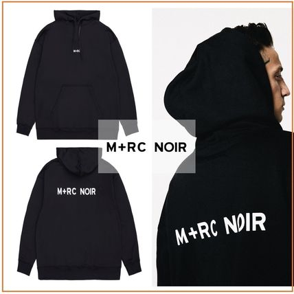 MRC NOIR Hoodies Pullovers Unisex Street Style Long Sleeves Hoodies