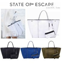 State of Escape Casual Style Unisex A4 Plain Oversized Totes