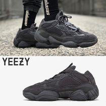 adidas YEEZY Suede Street Style Collaboration Plain Sneakers