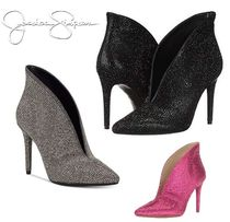 Jessica Simpson Plain Pin Heels Party Style Ankle & Booties Boots