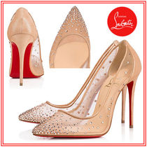 Christian Louboutin With Jewels High Heel Pumps & Mules