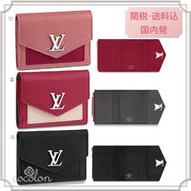Louis Vuitton LOCKME 18AW LOCKME MYLOCKME BI-COLOR COMPACT WALLET CALF LEATHER