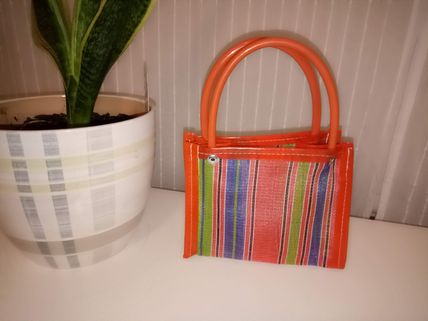Stripes Casual Style Bags