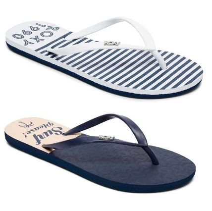 Open Toe Rubber Sole Casual Style Flip Flops Flat Sandals