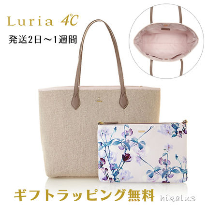 Flower Patterns Bag in Bag A4 Plain With Jewels