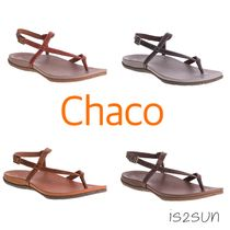 Chaco Casual Style Plain Leather Sandals Sandal