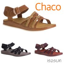 Chaco Casual Style Street Style Plain Leather Sandals Sandal