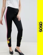 ASOS Flower Patterns Casual Style Skinny Pants