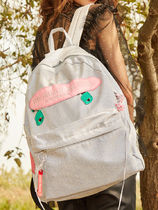 Entre Reves Casual Style Street Style A4 Backpacks