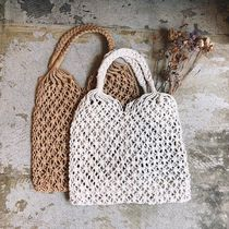 Casual Style Plain Crystal Clear Bags Totes