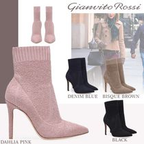 Gianvito Rossi Casual Style Pin Heels Ankle & Booties Boots
