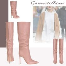 Gianvito Rossi Casual Style Pin Heels High Heel Boots
