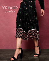 TED BAKER Flower Patterns Medium Office Style Culottes & Gaucho Pants