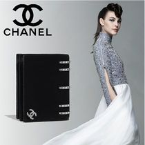 CHANEL Studded Plain Leather Home Party Ideas Elegant Style
