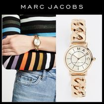 MARC JACOBS Round Stainless Elegant Style Analog Watches