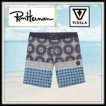 Ron Herman Paisley Tropical Patterns Blended Fabrics Street Style