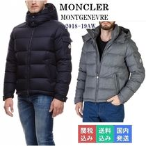 MONCLER MONTGENEVRE Short Wool Down Jackets