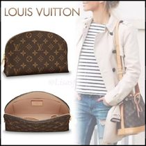 Louis Vuitton MONOGRAM Monogram Canvas Blended Fabrics Pouches & Cosmetic Bags
