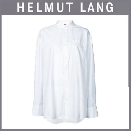 3d8c60811ad375 HELMUT LANG Long Sleeves Cotton Shirts   Blouses (I01UW501 - C7J) by ...
