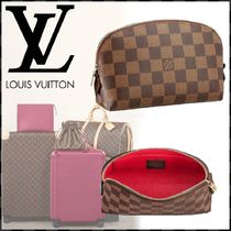 Louis Vuitton DAMIER Other Check Patterns Canvas Blended Fabrics