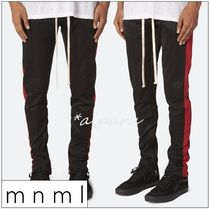 MNML Tapered Pants Street Style Plain Tapered Pants