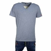 D SQUARED2 Street Style V-Neck Plain Cotton Short Sleeves