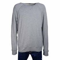 D SQUARED2 Street Style U-Neck Long Sleeves Plain Cotton Tops
