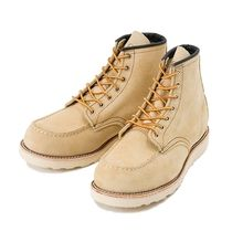 RED WING Unisex Suede Street Style Boots