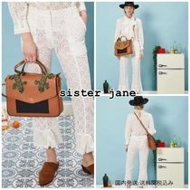 Sister Jane Flower Patterns Lace Cropped & Capris Pants