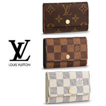 Louis Vuitton DAMIER Monogram Unisex Canvas Keychains & Holders