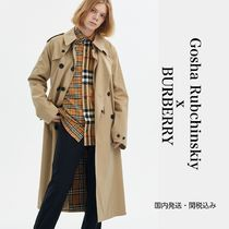 Gosha Rubchinskiy Unisex Collaboration Long Oversized Trench Coats