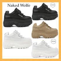 Naked Wolfe Plain Low-Top Sneakers