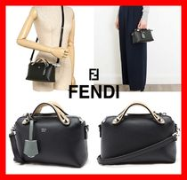 FENDI BY THE WAY Street Style Elegant Style Shoulder Bags