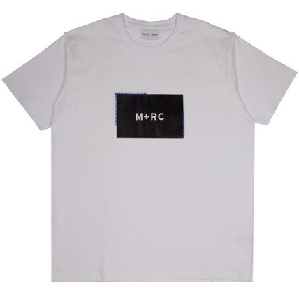 MRC NOIR Crew Neck Crew Neck Unisex Street Style Cotton Short Sleeves 2
