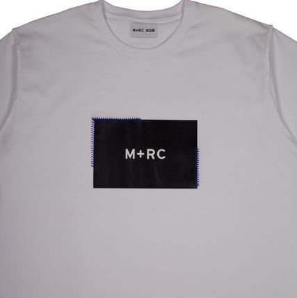 MRC NOIR Crew Neck Crew Neck Unisex Street Style Cotton Short Sleeves 3