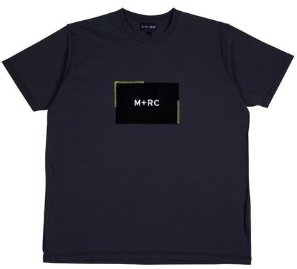 MRC NOIR Crew Neck Crew Neck Unisex Street Style Cotton Short Sleeves 5