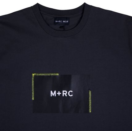 MRC NOIR Crew Neck Crew Neck Unisex Street Style Cotton Short Sleeves 6
