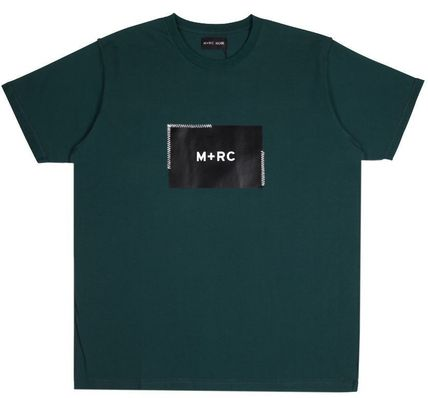 MRC NOIR Crew Neck Crew Neck Unisex Street Style Cotton Short Sleeves 9