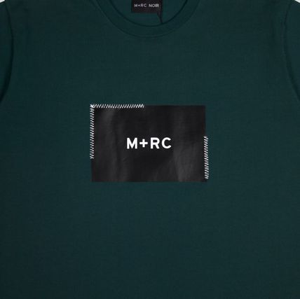 MRC NOIR Crew Neck Crew Neck Unisex Street Style Cotton Short Sleeves 10