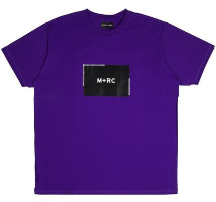 MRC NOIR Crew Neck Crew Neck Unisex Street Style Cotton Short Sleeves 12