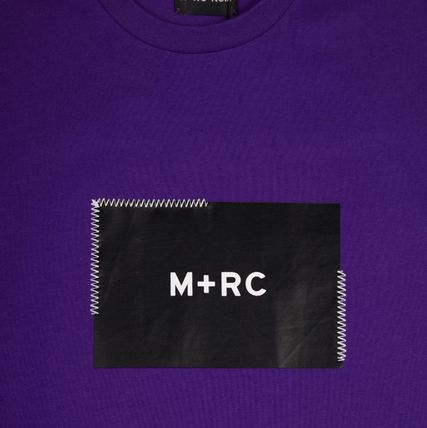 MRC NOIR Crew Neck Crew Neck Unisex Street Style Cotton Short Sleeves 13