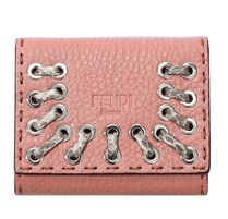 FENDI Calfskin Handmade Card Holders