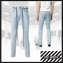 Off-White Cotton Jeans & Denim