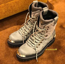 Louis Vuitton MONOGRAM Monogram Plain Toe Mountain Boots Blended Fabrics Plain