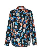 MSGM Flower Patterns Long Sleeves Cotton Medium Elegant Style